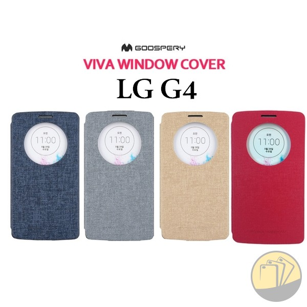 Bao da LG G4 hiệu Mercury (Viva Window từ Hàn Quốc)