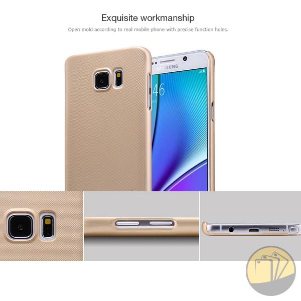 Ốp lưng Samsung Galaxy Note 5 hiệu Nillkin dạng sần