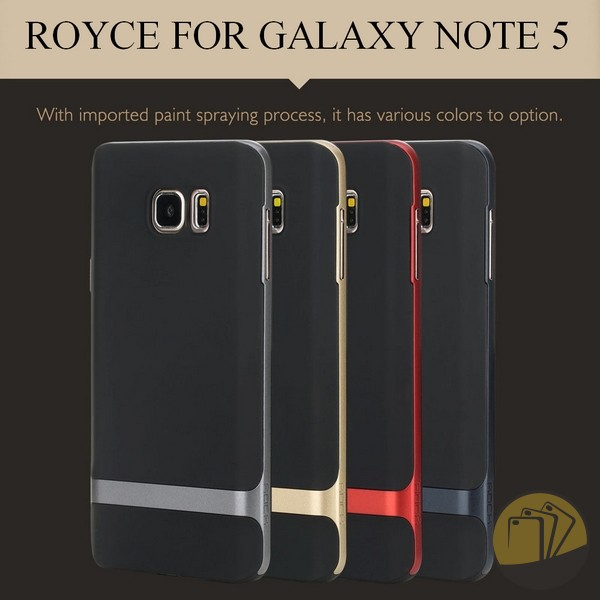 Ốp lưng Samsung Galaxy Note 5 hiệu Rock (Royce Series)