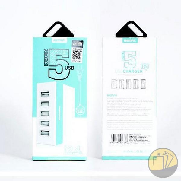 Đầu sạc 5 cổng USB hiệu Remax RU-U1