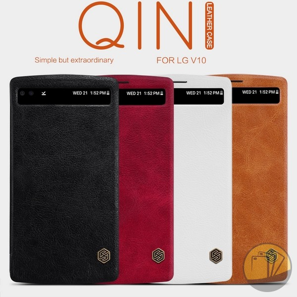 Bao da LG V10 hiệu Nillkin (QIN Series)
