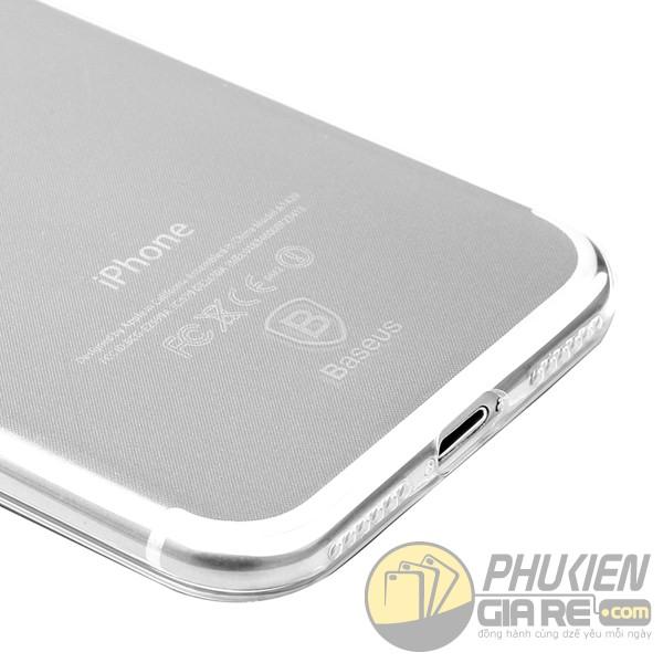 Ốp lưng dẻo trong suốt Iphone 7 hiệu Baseus (Simple Series)