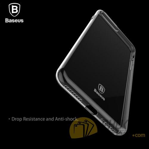 Ốp lưng dẻo trong suốt Iphone 7 Plus hiệu Baseus (Simple Series)