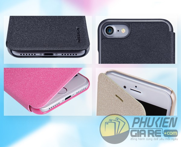 Bao da Iphone 7 hiệu Nillkin Sparkle