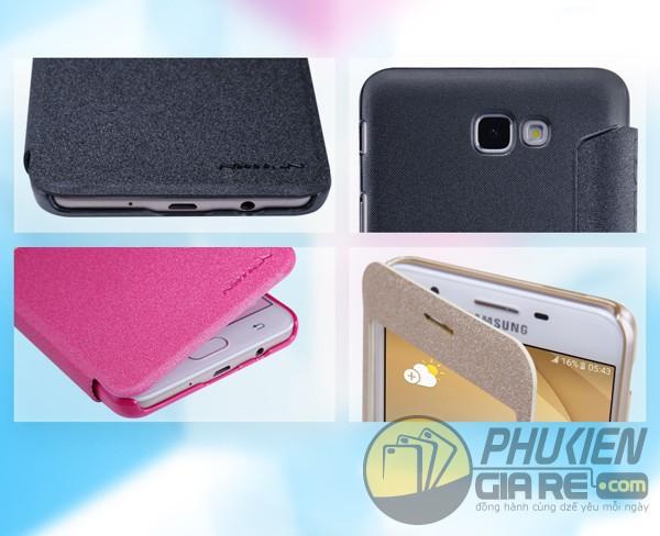 Bao da Samsung Galaxy J7 Prime hiệu Nillkin Sparkle