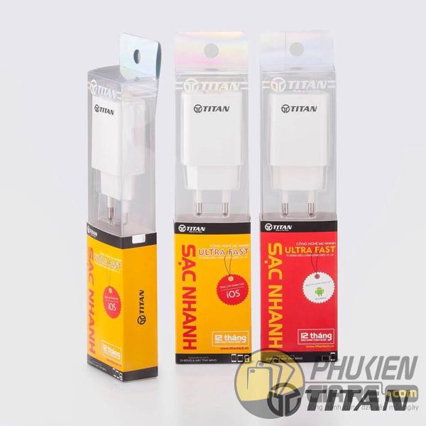 Cốc Sạc nhanh iPhone TITAN Made in VietNam