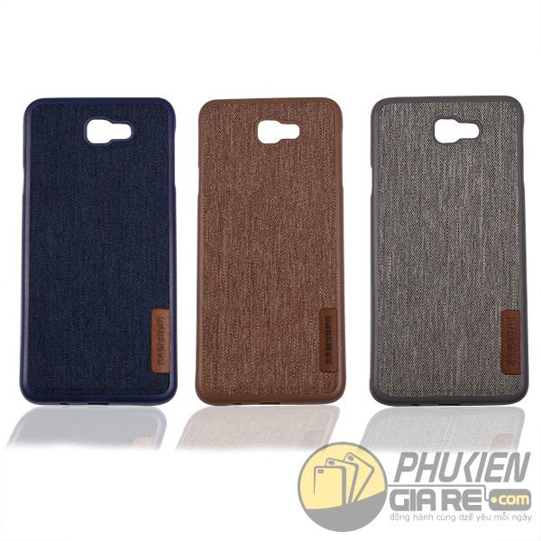 Ốp lưng jean Samsung Galaxy J7 Prime - Jean back cover