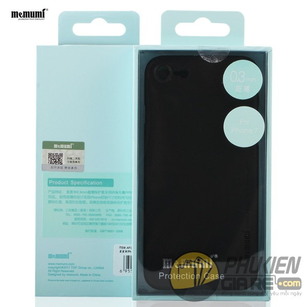 Ốp lưng iPhone 7 hiệu Memumi (Slim Case Series)