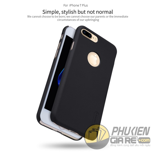 Ốp lưng iPhone 7 Plus hiệu Nillkin dạng sần