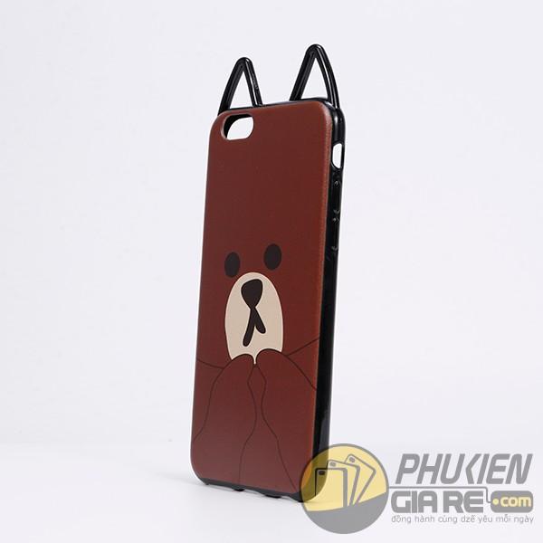 Ốp lưng iPhone 7 Plus dẻo hình thú