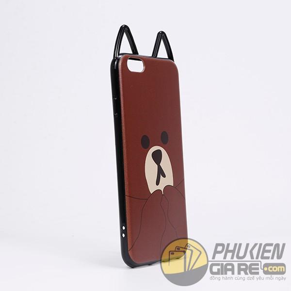 Ốp lưng iPhone 7 dẻo hình thú
