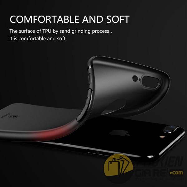Ốp lưng iPhone 7 Plus hiệu Baseus - Simple Series Solid Color