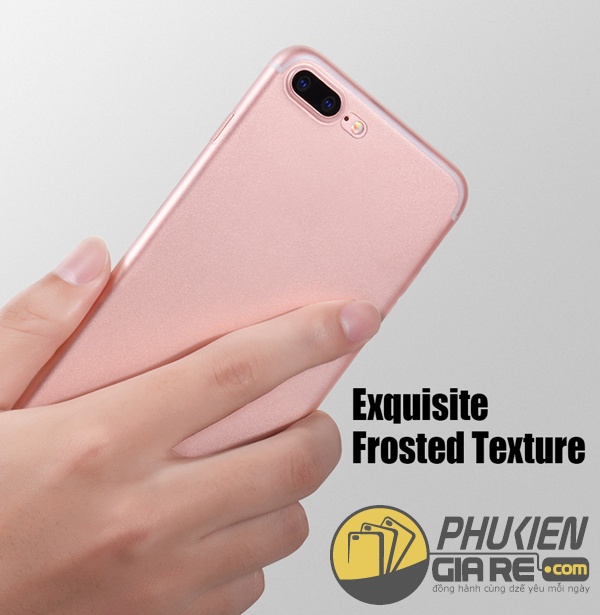 Ốp lưng iPhone 7 Plus hiệu OU - Frosted Series