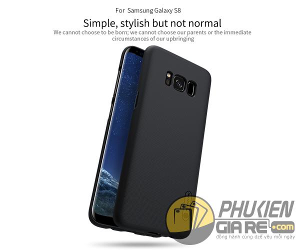 Ốp lưng Samsung Galaxy S8 hiệu Nillkin dạng sần