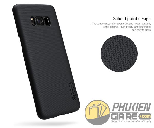 Ốp lưng Samsung Galaxy S8 Plus hiệu Nillkin dạng sần