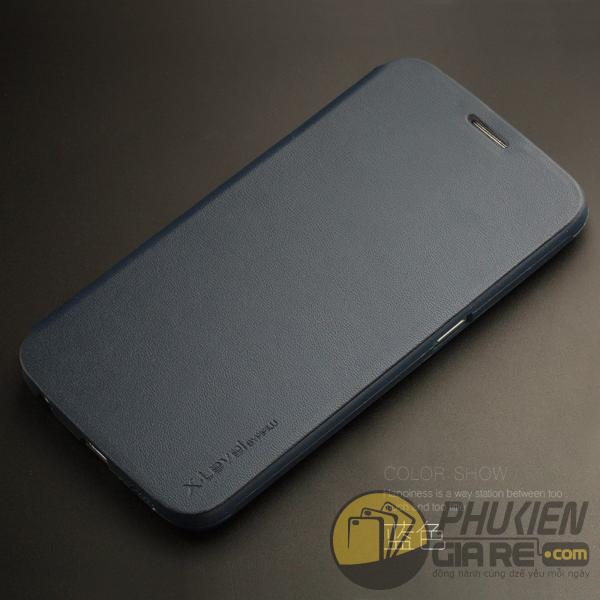 Bao da Samsung Galaxy A9/A9 Pro hiệu Pipilu X-Level (Fibcolor Series)