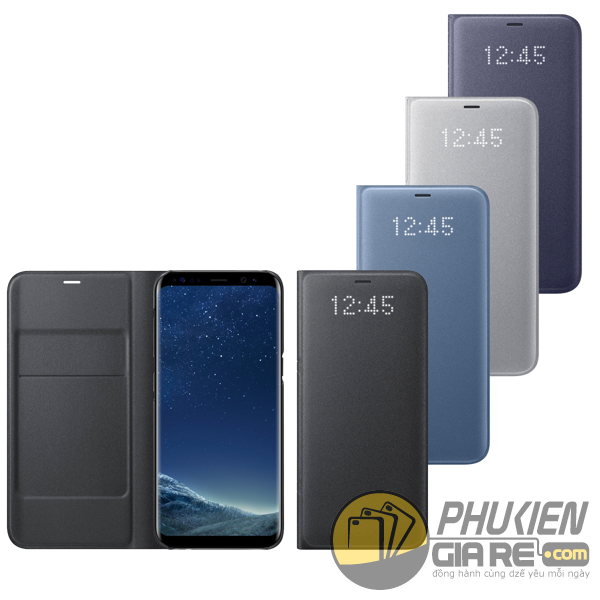Bao da Samsung Galaxy S8 Plus Led View chính hãng