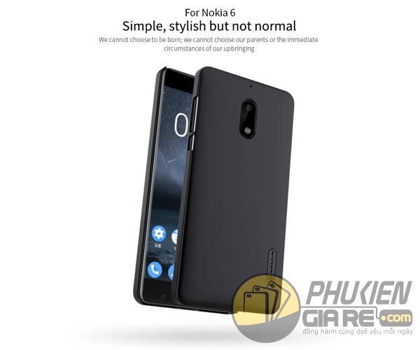 Ốp lưng Nokia 6 hiệu Nillkin dạng sần