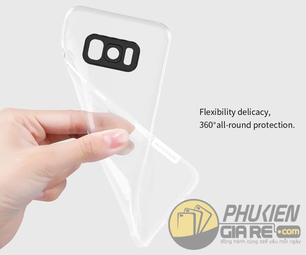 Ốp lưng Galaxy S8 hiệu Nillkin dẻo siêu mỏng