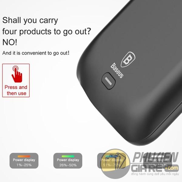 Ốp lưng Galaxy S8 kiêm pin dự phòng 5000 mAh Baseus