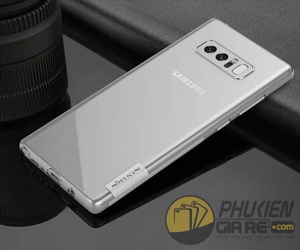 Ốp lưng Galaxy Note 8 nhựa dẻo siêu mỏng Nillkin