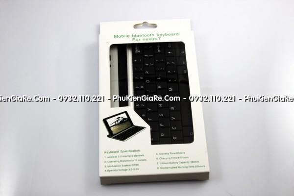 Dock bàn phím nhôm google nexus 7