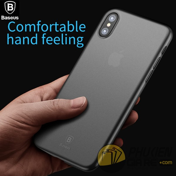 Ốp lưng iphone X trong suốt