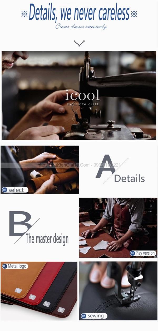 Bao da hiệu iCool