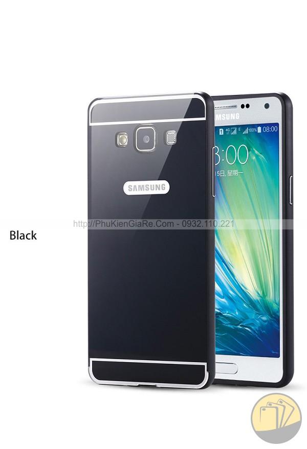 Ốp viền kim loại kèm nắp sau cho Galaxy A7