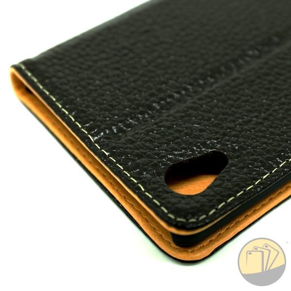 Bao da thật cho Sony Xperia M4 Aqua hiệu Probee