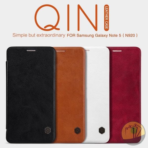 Bao da Galaxy Note 5 hiệu Nillkin (QIN Series)
