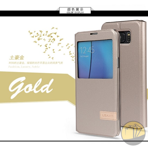 Bao da Galaxy Note 5 hiệu USAMS Muge Series