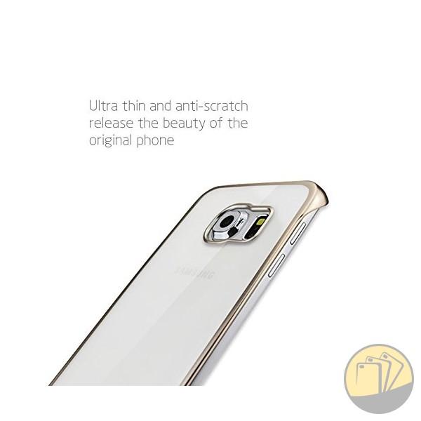 Ốp lưng trong suốt viền màu Galaxy Note 5 hiệu Meephone