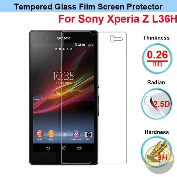 Dán cường lực Sony Xperia Z hiệu GLASS