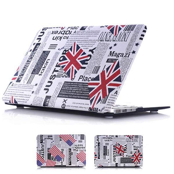 Ốp lưng Macbook Air 13.3'' Ultra thin hoa văn cờ mỹ