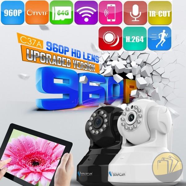Camera IP không dây VStarcam C37A 1.3 megapicel