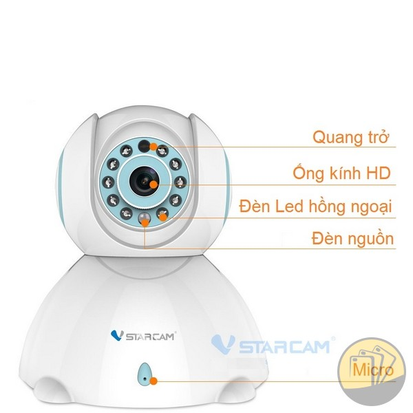 Camera IP không dây VStarcam C7842WIP