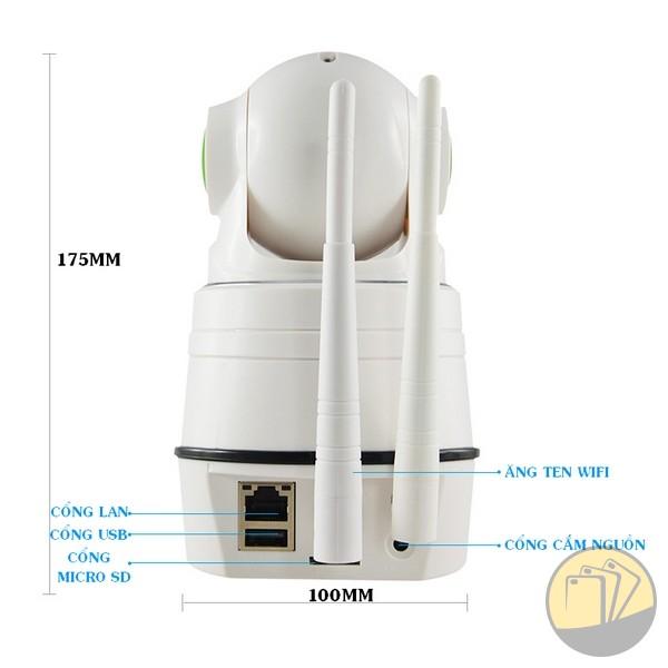 Camera IP không dây NPC-T2 để bàn