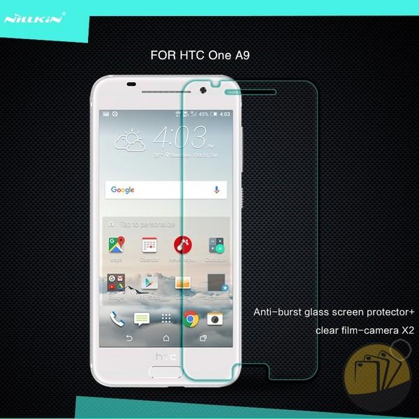 Dán cường lực 9H cho HTC One A9 hiệu Nillkin