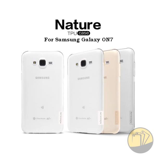 Ốp lưng Samsung Galaxy ON7 hiệu Nillkin dẻo siêu mỏng