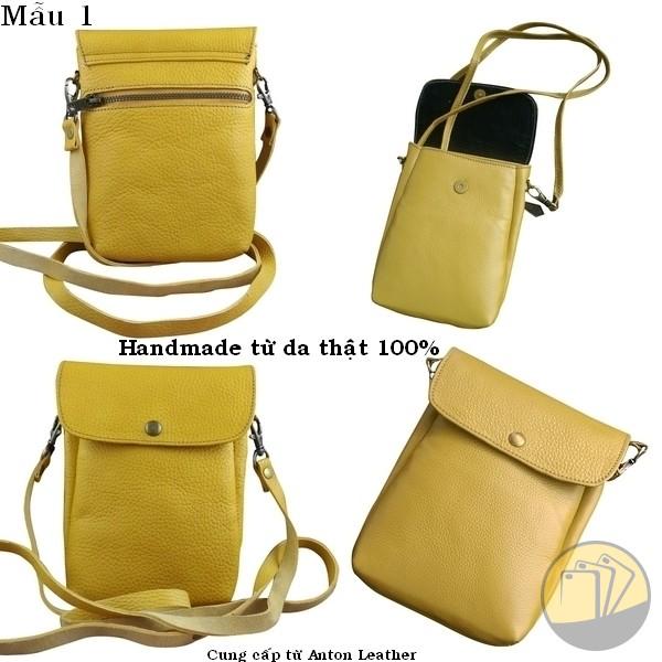 Túi Đeo Nữ Nhỏ Handmade (Chất Liệu Da Thật 100%)