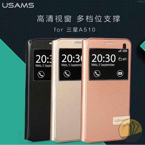 Bao da Galaxy A5 2016 hiệu USAMS Muge Series
