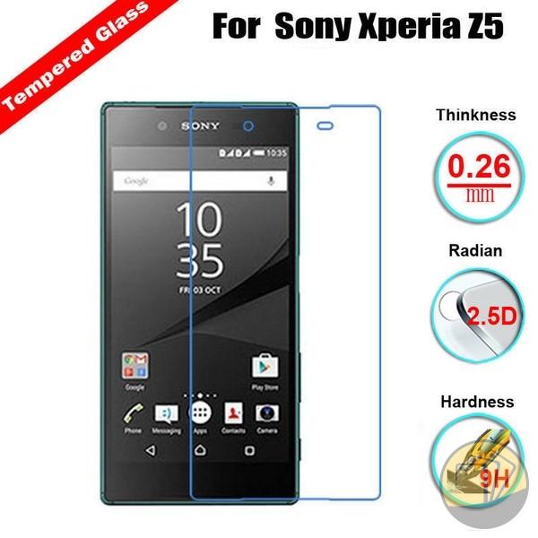 Dán cường lực Sony Xperia Z5 hiệu GLASS