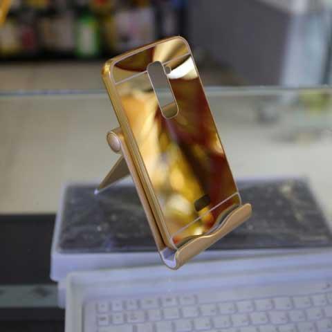 Ốp lưng tráng gương kiêm viền nhôm cho LG G2
