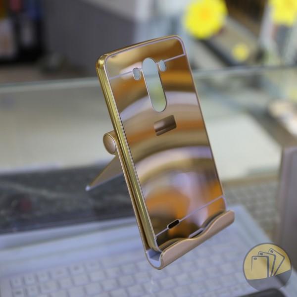 Ốp lưng tráng gương kiêm viền nhôm cho LG G3