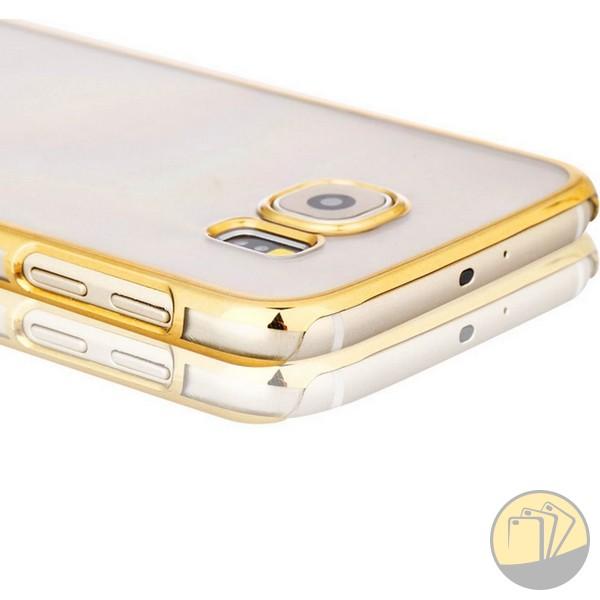 Ốp lưng trong suốt viền màu Galaxy A7 2016 hiệu Meephone