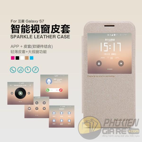 Bao da Galaxy S7 hiệu nillkin