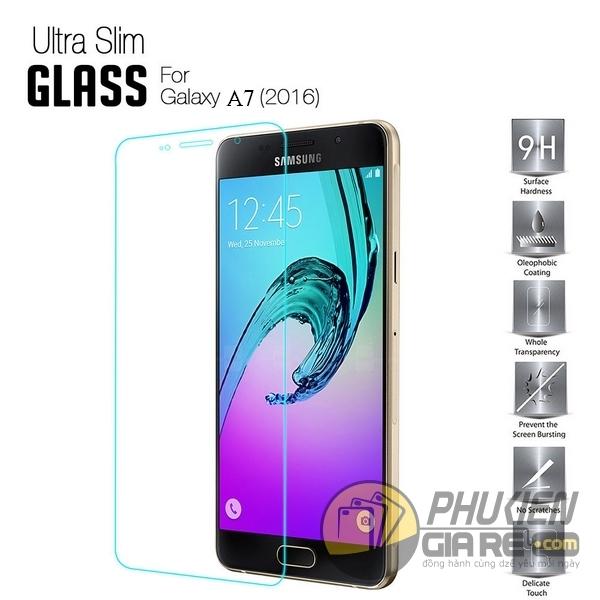 Dán cường lực Samsung Galaxy A7 2016 hiệu Glass