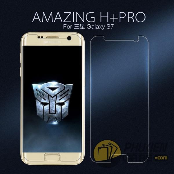 Dán cường lực 9H+ cho Galaxy S7 hiệu Nillkin
