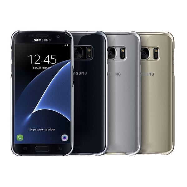 Ốp lưng Clear Cover cho Galaxy S7 Edge chính hãng Samsung